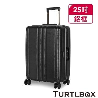 【TURTLBOX 特托堡斯】25吋 行李箱 日本Hinomoto靜音飛機輪 TB5-FR(多色任選)