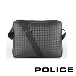 【POLICE】限量2.5折起 義大利潮牌 經典前衛長形側肩包 福利品特價(PRYAMID系列 專櫃展示品99%新)