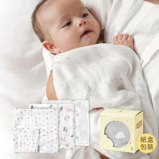 【Hoppetta】竹纖維紗布巾禮袋組-紙盒包裝/