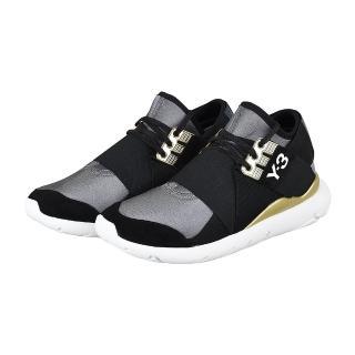 【Y-3 山本耀司】adidas Y-3 QASA ELLE LACE 武士忍者鞋(黑金)