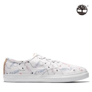 【Timberland】女款白色帆布1973休閒鞋(A2FTZ100)
