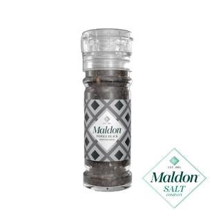 【MALDON馬爾頓】馬爾頓印度黑胡椒 研磨罐 50G(進口食品)