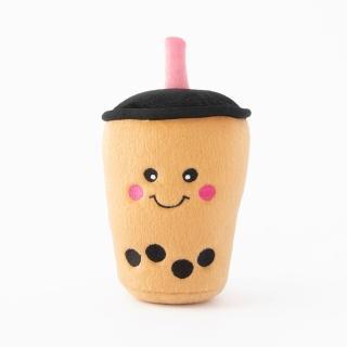 【ZippyPaws】美味啾關係-珍珠奶茶 有聲玩具(寵物玩具 有聲玩具 益智玩具)