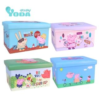 【yoda】peppa pig 佩佩豬收納箱(四款可選)