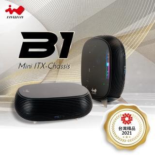【IN WIN 迎廣】B1 玻璃機殼-黑(含金牌200W)
