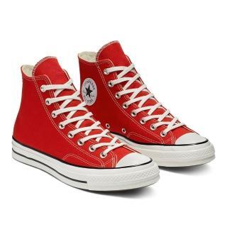 【CONVERSE】CHUCK 70 HI 紅 男女高筒帆布鞋(164944C)