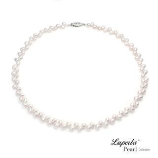 【大東山珠寶】輕時尚淡水珍珠項鍊 混串粉色(時尚珍珠)