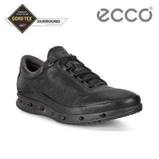 【ecco】COOL M 360度環繞防水休閒運動鞋 男鞋(黑色 83130401001)