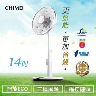 【下單登記抽mo幣1萬元】CHIMEI 奇美 14吋微電腦ECO遙控擺頭DC節能風扇(DF-14D600)