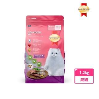 【SmartHeart 慧心】貓糧 - 海鮮口味(1.2kg)