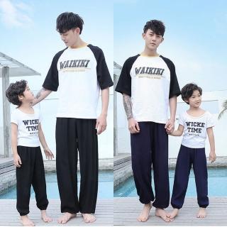 【Baby 童衣】親子裝 涼感透氣防蚊褲 薄長褲 88114 88115(共13色)