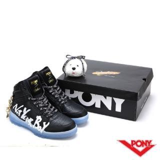 【PONY】M100系列-PONY聯名款-黑-男款