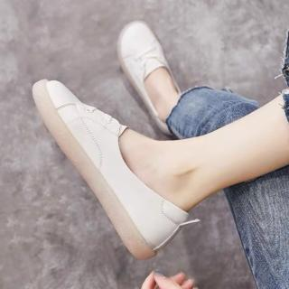 【LN】現+預 淺口簡約牛筋底休閒鞋(懶人鞋 樂福鞋)