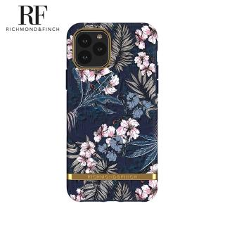 【Richmond&Finch】瑞典手機殼 金線框-花叢林(iPhone 11 Pro 5.8吋)