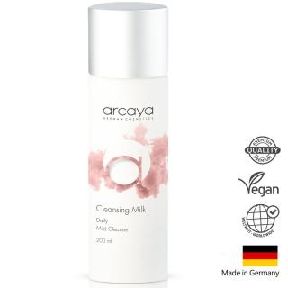 【arcaya 德國護膚】溫和淨嫩卸妝乳 Cleansing Milk 200ml(贈草本潔面膠50ml 德國原裝進口)