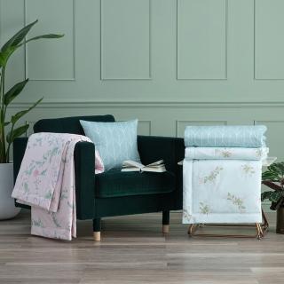 【WEDGWOOD】300織長纖純棉印花涼被-多款任選(單人150x195cm)