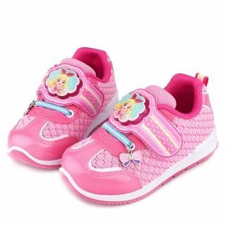 【童鞋城堡】中大童 氣質款LED電燈運動鞋(ID5237-粉)