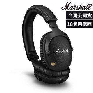 【Marshall】Monitor II A.N.C.主動式抗噪藍牙耳機(精簡黑)