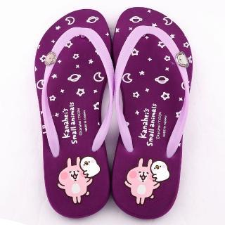 【童鞋城堡】兔兔P助夾腳拖 Kanahei卡娜赫拉小動物(KI0592-紫)