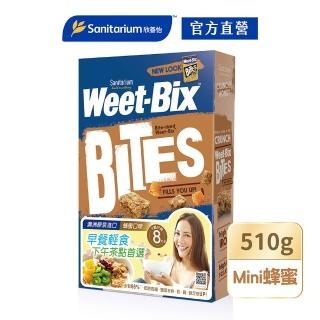 【Weet-Bix】澳洲全穀麥片(mini蜂蜜510g)