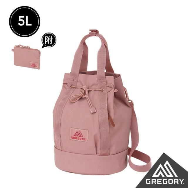 【Gregory】新品│5L LADYBIRD 2WAY BUCKET兩用水桶包(玫瑰粉)