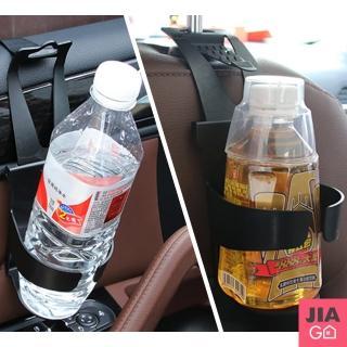 【JIAGO】可掛式多功能車用飲料架-2入/組