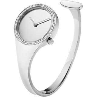 【Georg Jensen 喬治傑生】VIVIANNA 鑽石 石英腕錶-27mm(3575620)