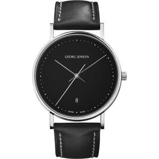 【Georg Jensen 喬治傑生】KOPPEL 石英腕錶-38mm(3575708)