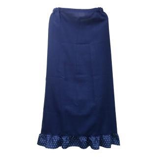 素色一片裙防曬裙MS508(藍色)