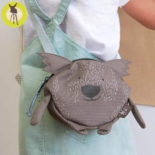 【Lassig】幼童迷你動物造型隨身包-多色