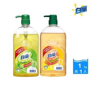 【白蘭】動力配方洗碗精 1kg(鮮柚/檸檬)