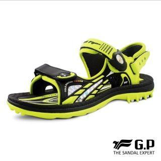 【G.P】女 童鞋 柔軟PLUS兒童兩用涼拖鞋 女鞋(綠)