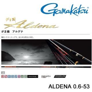 【GAMAKATSU】ALDENA 0.6-53 磯釣竿(公司貨)