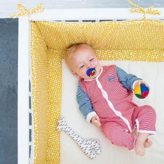【比利時 Trixie】有機棉嬰兒床圍-19款可選