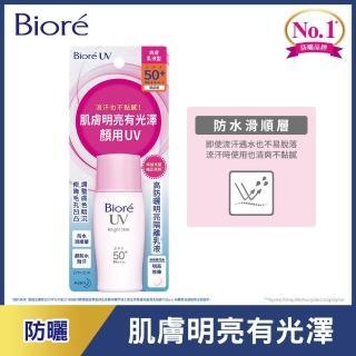 【Biore 蜜妮】高防曬明亮隔離乳液 SPF50+/ PA++++(30ml)