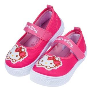 【布布童鞋】HelloKitty凱蒂貓桃色上學專用兒童室內鞋休閒鞋(C0F914H)