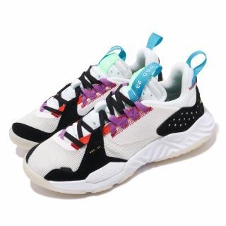 【NIKE 耐吉】休閒鞋 Jordan Delta React 女鞋 Sail Multi 喬丹 冠希著 球鞋 米 黑(CT1003-101)