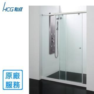 【HCG 和成】SM2W 淋浴拉門 無框一字二門 橫拉(寬150*高190)