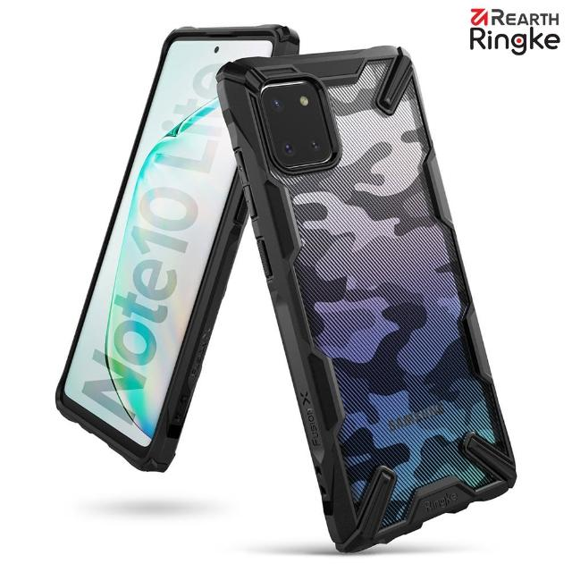 【Ringke】Rearth 三星 Galaxy Note 10 Lite [Fusion X Design] 透明背蓋防撞手機殼(Note 10 Lite 手機殼)