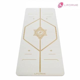 【Liforme】經典瑜珈墊-白色奇蹟限定版(原廠公司貨)