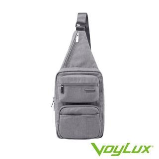 【VoyLux 伯勒仕】VoyLux 伯勒仕- 極簡系列城市快捷跨身包35854XX(多口袋方便收納)