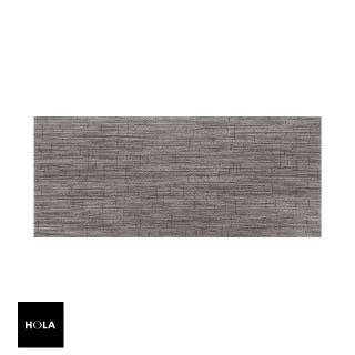 【HOLA】特斯勒時尚編織踏墊50x115cm 灰棕