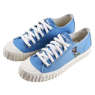 【Disney 迪士尼】迪士尼親子鞋  唐老鴨  造型帆布休閒鞋-藍(MIT台灣在地工廠製造)