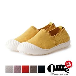 【OLLIE】韓國連線/版型偏小。渡假首選防踢紓壓好穿樂福鞋(72-718/6色/現貨+預購)