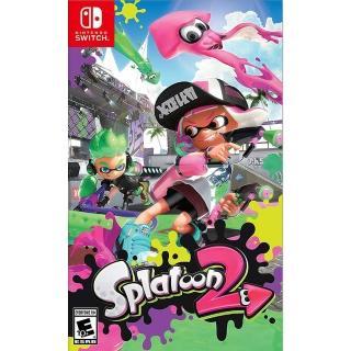 【Nintendo 任天堂】NS Switch 漆彈大作戰 2 英文美版(Splatoon 2)