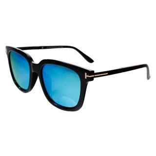 【Turoshio】TR90 偏光太陽眼鏡 時尚方框 炫藍 K1718 C1B(偏光太陽眼鏡)