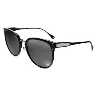 【Turoshio】TR90 偏光太陽眼鏡 明星時尚混框 水手藍 K1823 C1C(偏光太陽眼鏡)
