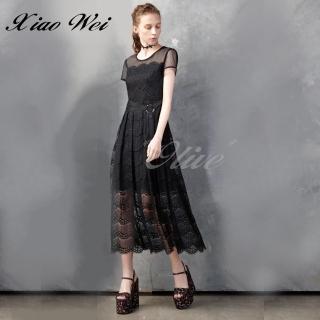 【CHENG DA】專櫃精品春夏款時尚流行短袖洋裝(NO.513192)