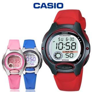 【CASIO 卡西歐】LW-200 小巧時尚亮色系輕鬆配戴防水電子錶