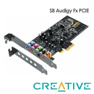 【Creative】Sound Blaster Audigy Fx 音效卡(PCIe)
